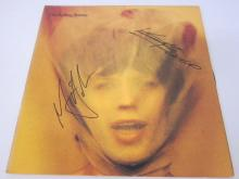 Lot 227: ROLLING STONES BAND SIGNED AUTOGRAPHED RECORD COA MICK,KEITH