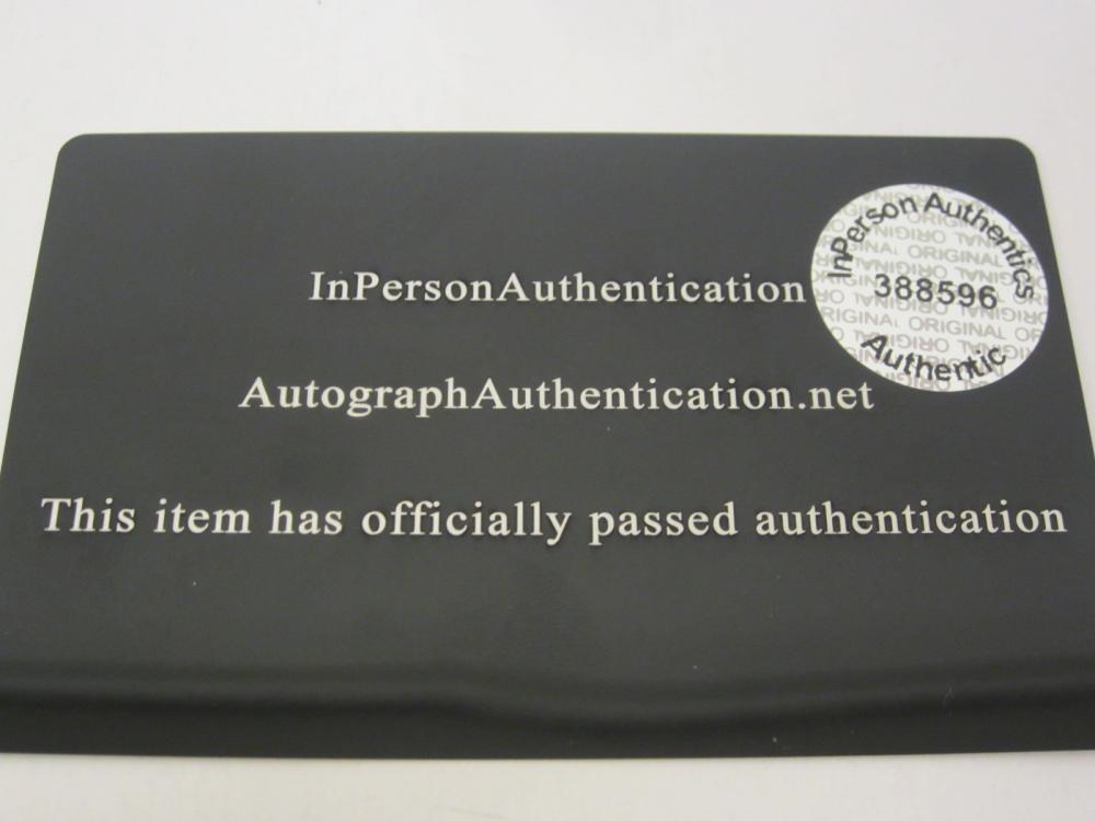 Lot 229: PRINCE SIGNED AUTOGRAPHED 8X10 COA