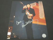 Lot 231: PAUL MCCARTNEY SIGNED AUTOGRAPHED 8X10 COA