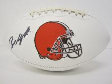 Lot 270: BAKER MAYFIELD SIGNED AUTOGRAPHED BROWNS FOOTBALL COA