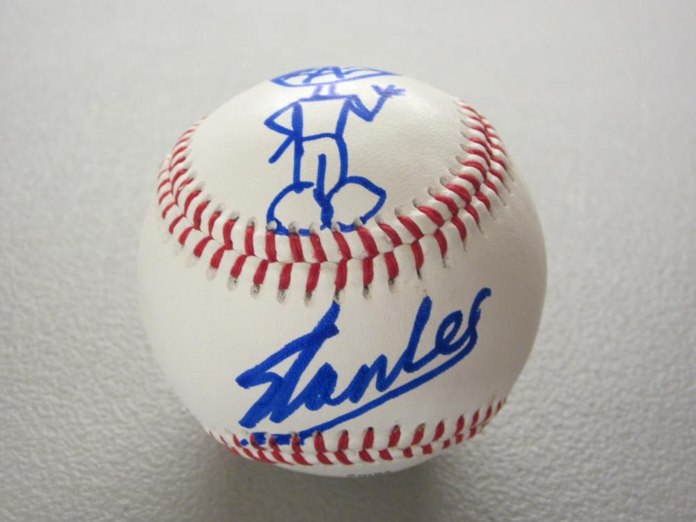 Lot 314: STAN LEE SIGNED AUTOGRAPHED BASEBALL W/DRAWING COA