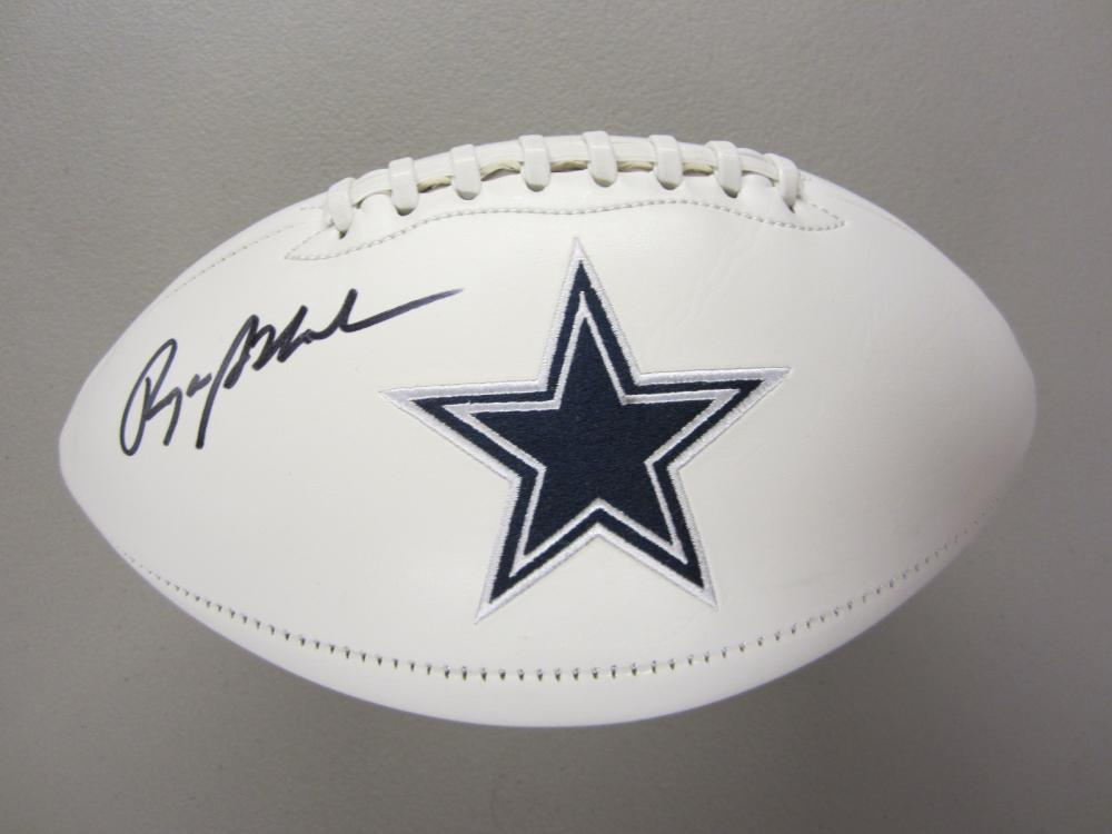 Lot 318: ROGER STAUBACH SIGNED AUTOGRAPHED COWBOYS FOOTBALL COA