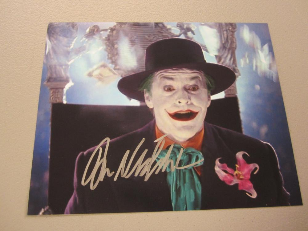 Lot 442: JACK NICKELSON SIGNED AUTOGRAPHED 8X10 COA