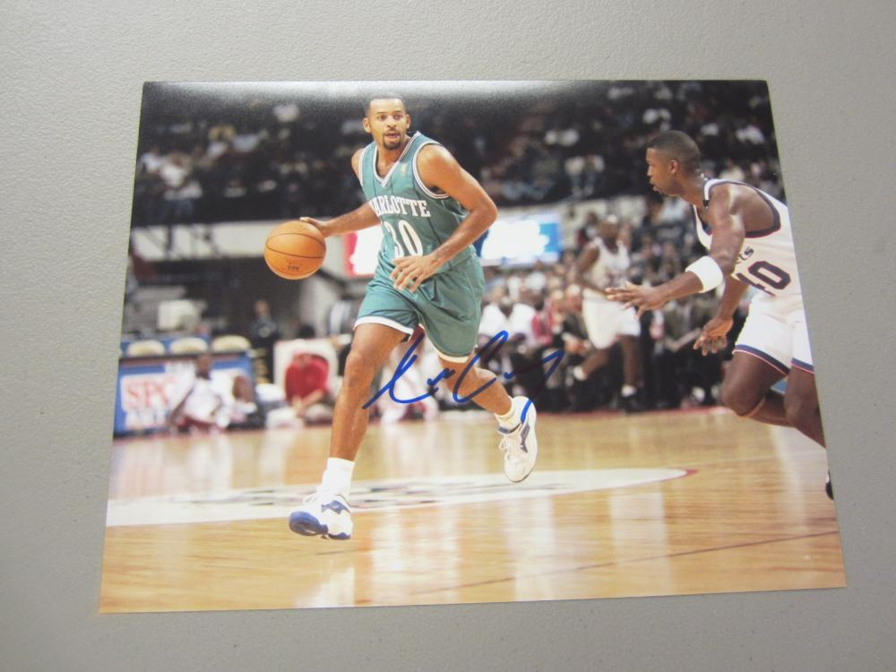 Lot 595: DELL CURRY SIGNED AUTOGRAPHED 8X10 COA