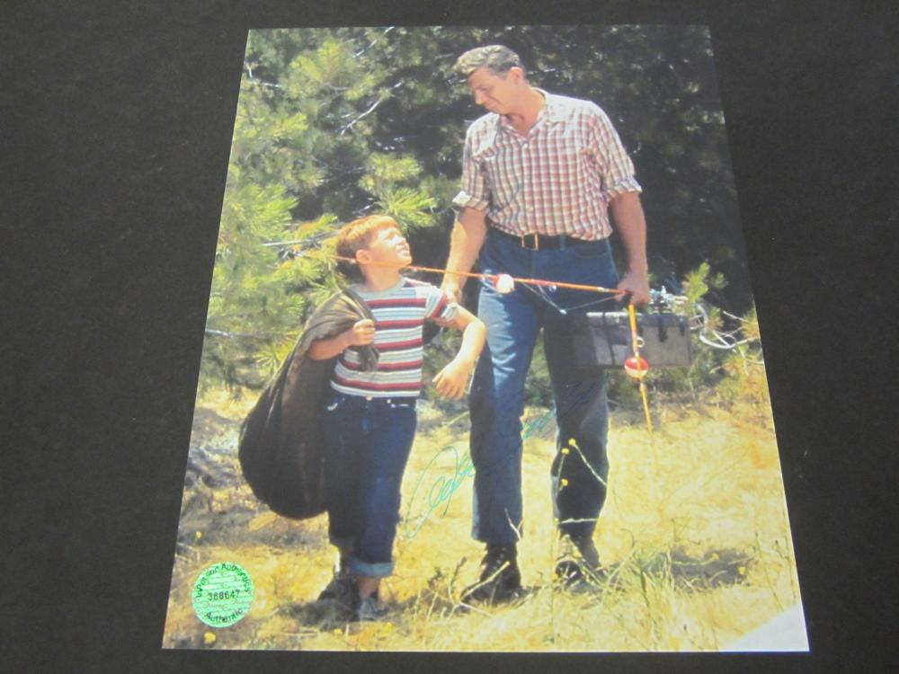 Lot 635: Andy Griffith signed autographed 8x10 Photo Certified Coa