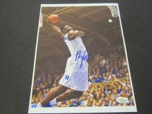 Lot 641: Zion Williamson Duke signed autographed 8x10 Photo Certified Coa