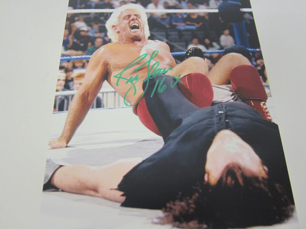 Lot 648: Ric Flair WWE signed autographed 8x10 Photo Certified Coa