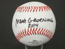 Lot 666: Matt Groening Simpsons signed Baseball Certified Coa