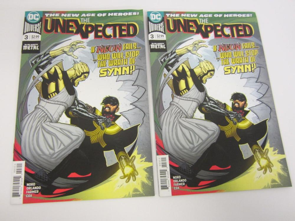 Lot 689: (2)THE UNEXPECTED DC COMIC BOOK LOT