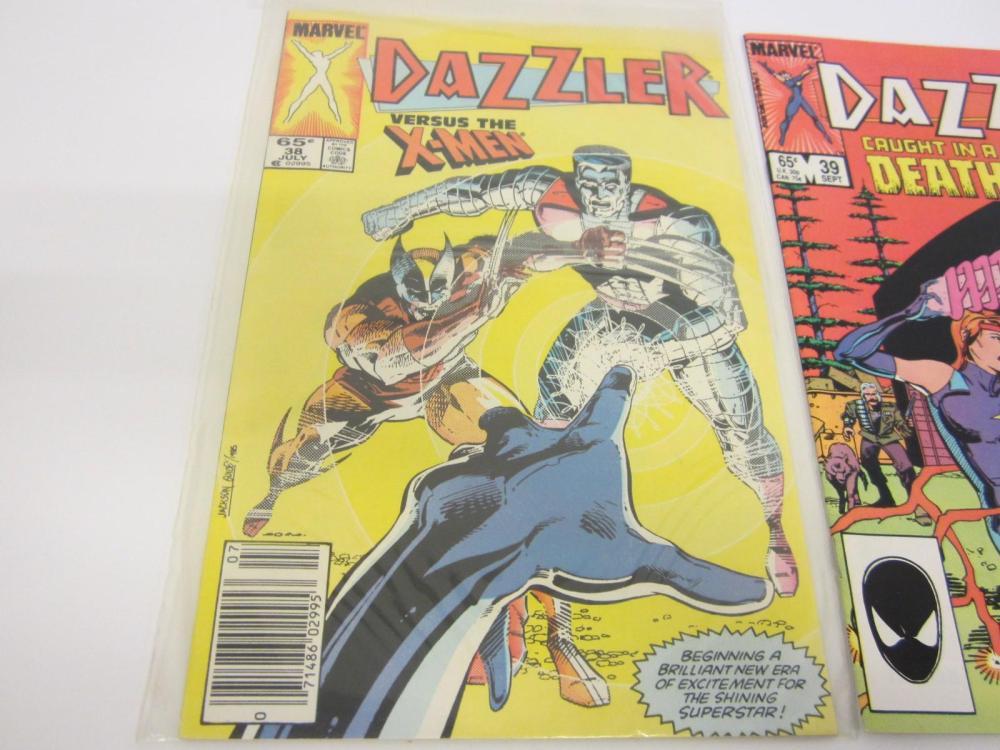 Lot 690: (3)DAZZLER MALIBU COMICS COMIC BOOK LOT