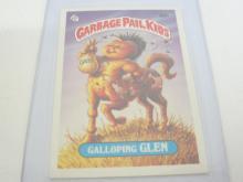 Lot 691: 1986 TOPPS GARBAGE PAIL KIDS GALLOPING GLEN CARD