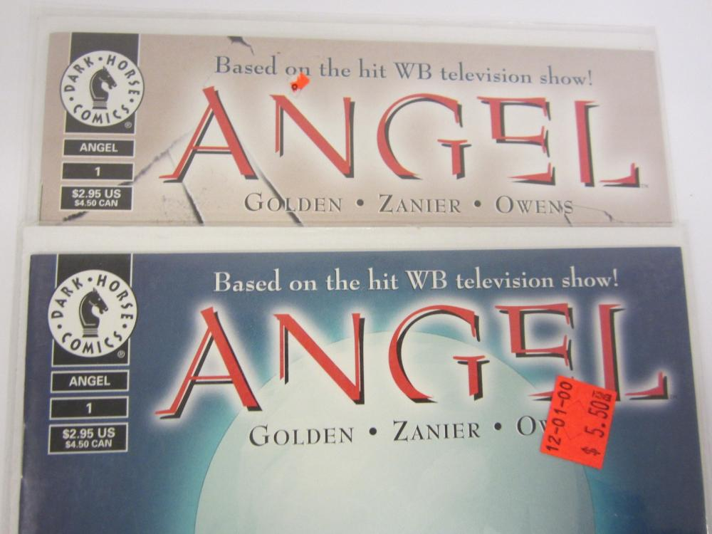 Lot 688: (2)ANGEL DARK HORSE COMICS BOOK LOT