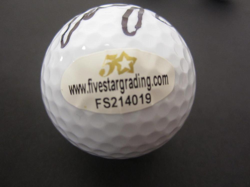 Lot 727: Emiliano GrilloSigned Lot of 4 Golf Balls Certified Coa