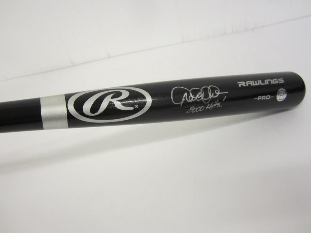 Lot 728: Derek Jeter Yankees signed autographed Baseball Bat Certified Coa