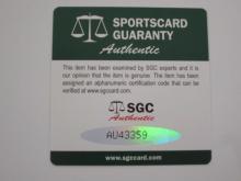 Lot 759: Tom Trebelhorn Signed 1989 Baltimore Orioles vs Milwaukee Brewers Line Up Card Certified CoA