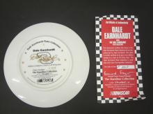 Lot 767: DALE EARNHARDT OFFICAL GLASS HAMILTON PLATE FROM EARNHARDT COLLECTION