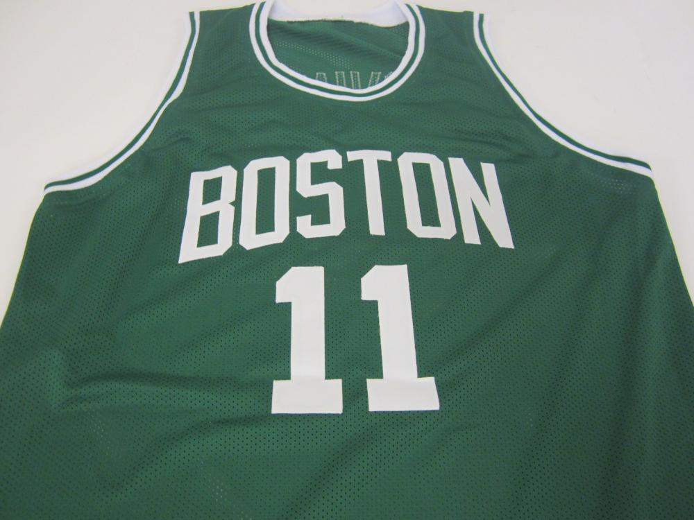 Lot 778: KYRIE IRVING BOSTON CELTICS SIGNED AUTOGRAPHED JERSEY CERTIFIED COA