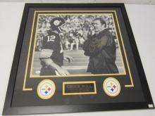 Lot 807: Chuck Knoll Steelers Signed Autographed Framed 16x20 Photo JSA CoA