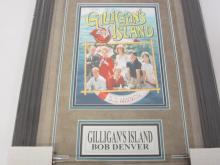 Lot 825: Bob Denver Signed Autographed Framed Gilligan's Island 8x10 Photo JSA CoA