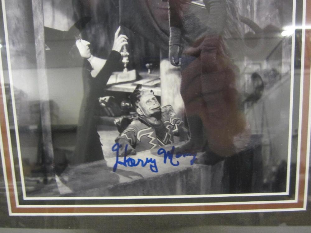 Lot 835: Harry Monty (Wizard of Oz Flying Monkey) Signed Framed 8x10 Photo PSA/DNA CoA