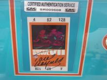 Lot 836: Paul Warfield Dolphins Signed Autographed Framed Super Bowl XIII Replica Ticket Certified CoA