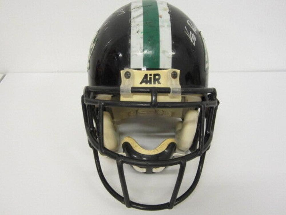 Lot 844: Brady Quinn Signed Autographed FS Game Used High School Helmet Certified CoA