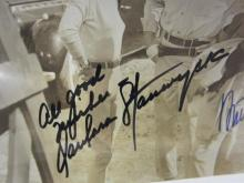 Lot 857: Barbara Stanwyck & Anthony Quinn Signed Autographed 8x10 Photo Certified CoA