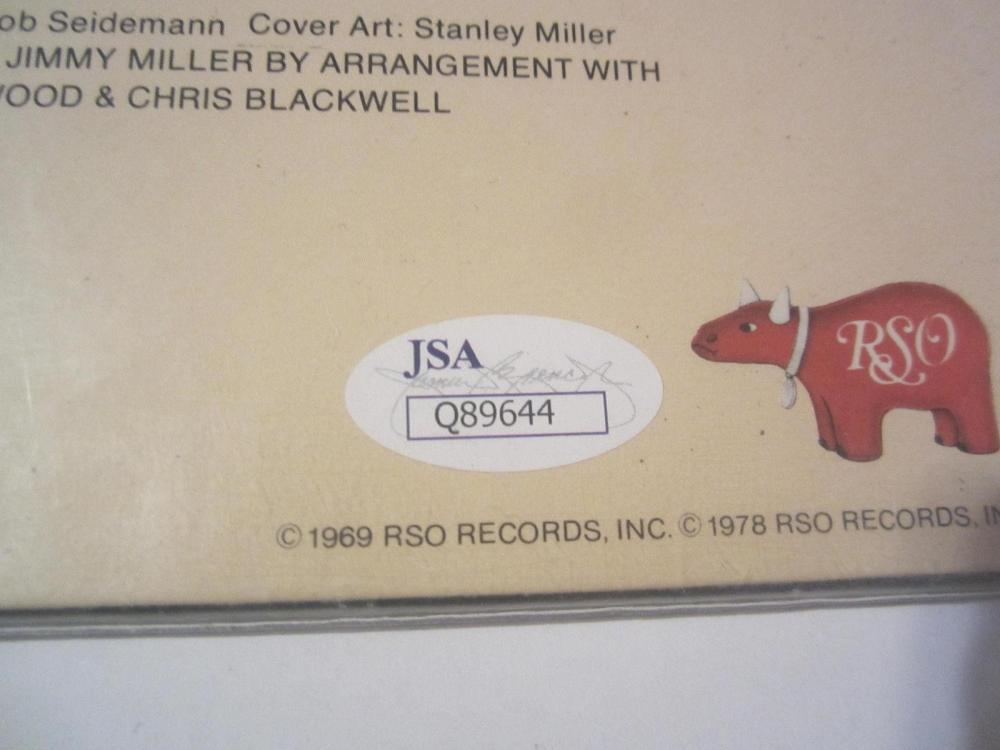 Lot 860: Ginger Baker Signed Autographed Blind Faith Record Cover JSA CoA