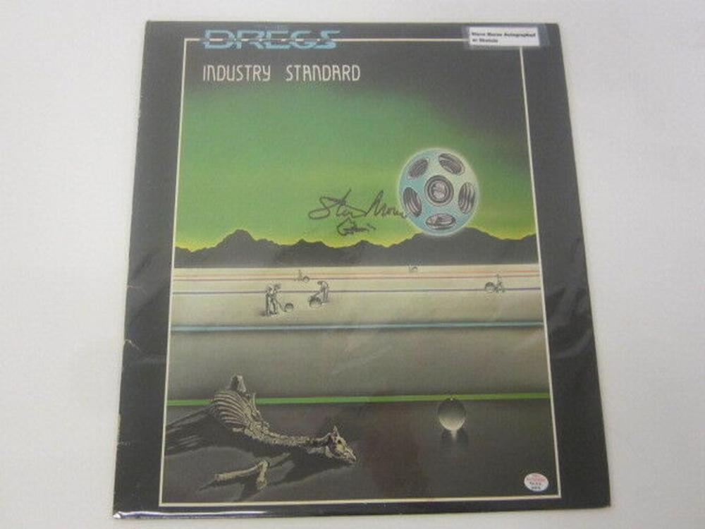 Lot 867: Steve Morse Dregs Industry Standard Signed Autographed Record Album w/ Sketch Certified CoA