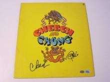Lot 870: Cheech & Chong Signed Autographed Record Album Cover Certified CoA