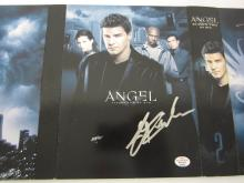 "Lot 880: Cast Signed (4 Autographs) ""Angel"" Season 2 DVD Set Certified CoA"