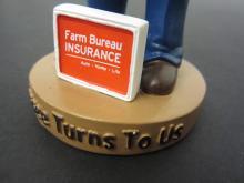 Lot 884: FARM BUREAU INSURANCE STADIUM GIVEAWAY BOBBLEHEAD