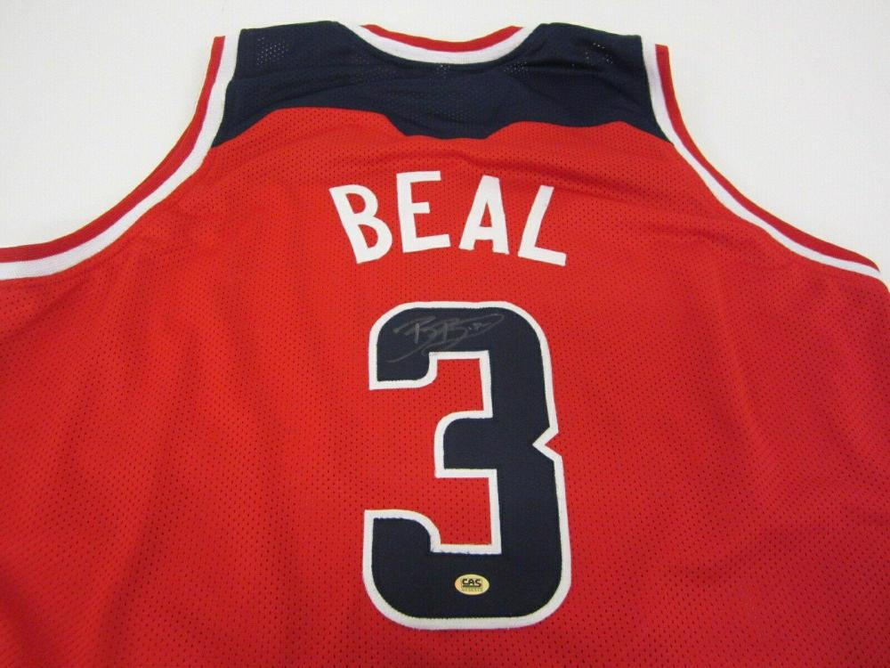 Lot 886: Bradley Beal Washington Wizards Signed Autographed Jersey Certified CoA
