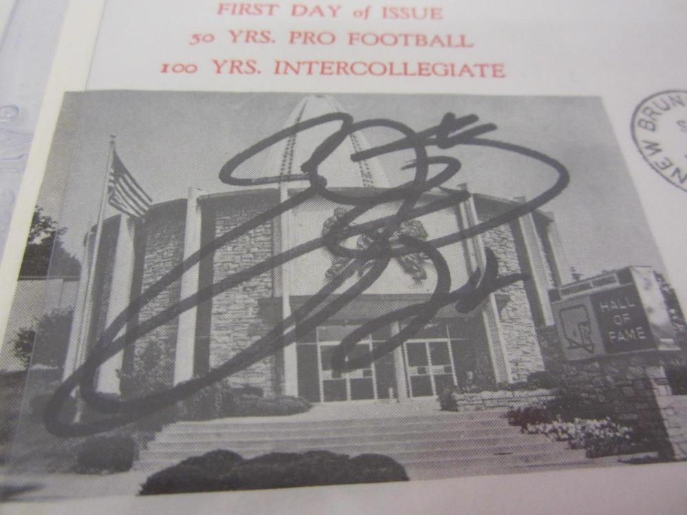 Lot 908: EMMITT SMITH SIGNED AUTOGRAPHED FIRST DAY OF ISSUE ENVELOPE JSA COA