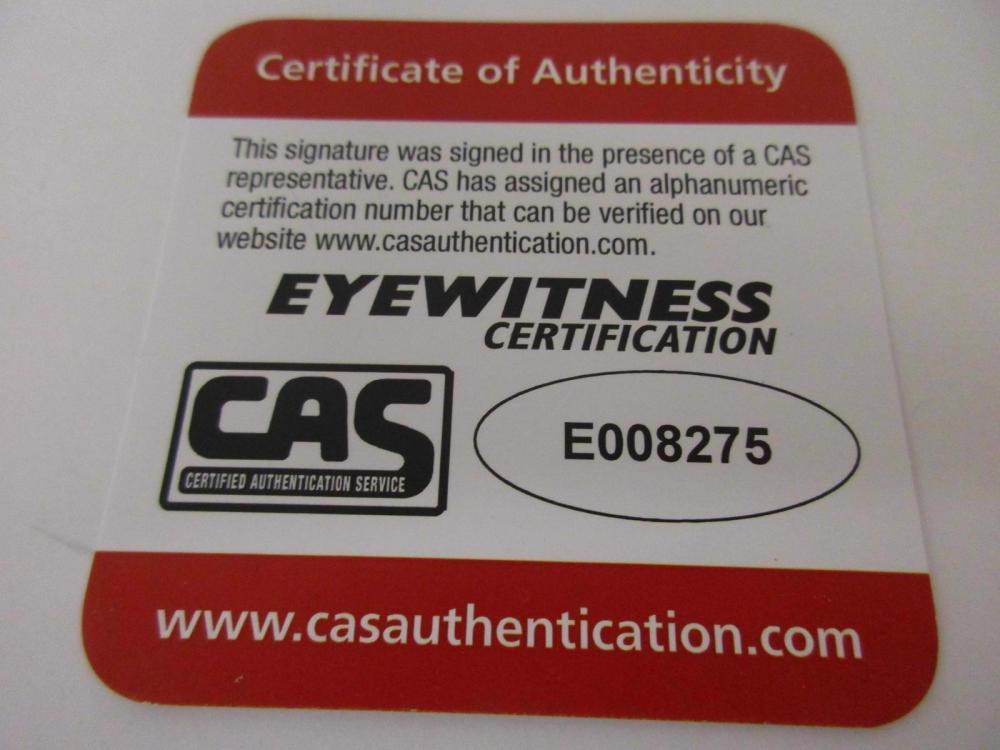 Lot 919: JAKE WESTBROOK SIGNED AUTOGRAPHED INDIANS OMLB BASEBALL CAS COA
