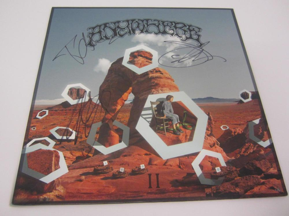 Lot 918: ANYWHERE BAND SIGNED AUTOGRAPHED RECORD COA CEDRIC,MIKE WATT,JONES