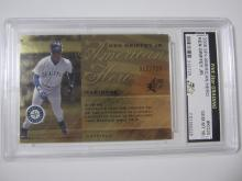 Lot 916: 2008 SPX AMERICAN HERO KEN GRIFFEY JR. GRADED GEM MINT 10