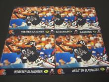 Lot 934: Webster Slaughter Lot of 5 signed autographed 8x10 Photos Certified