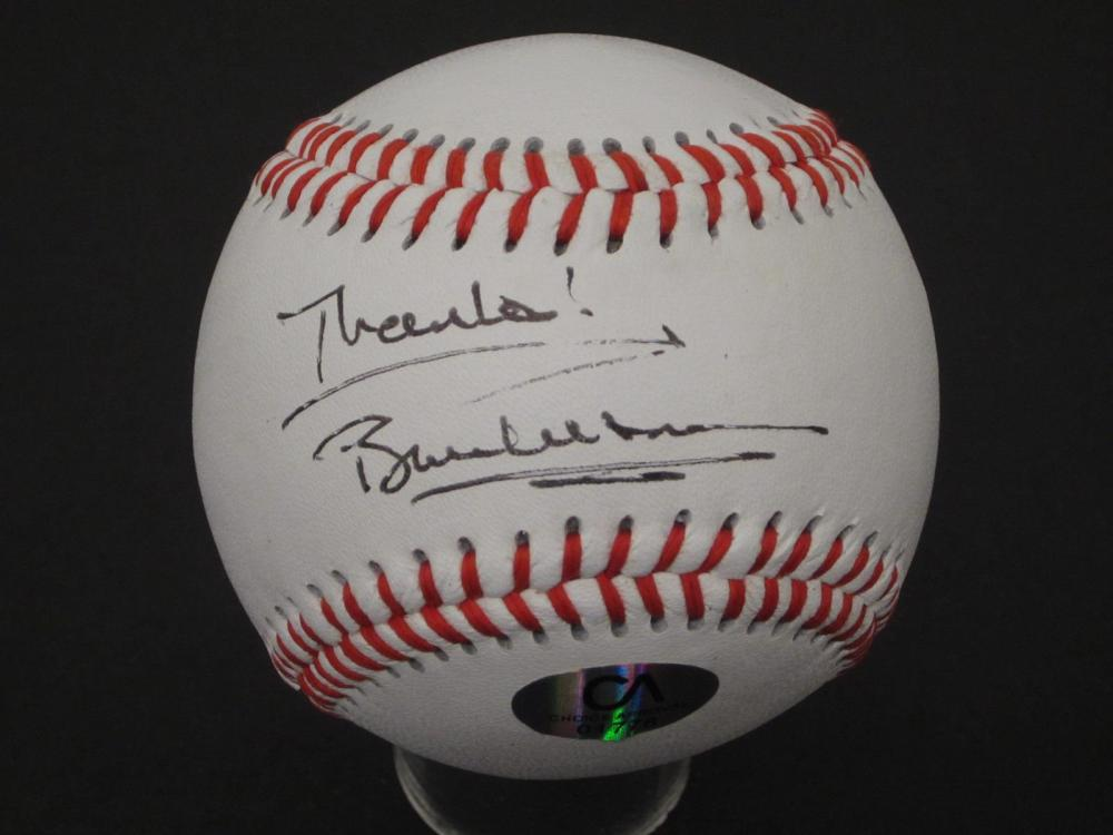 Lot 946: Bill Clinton Former President signed autographed Baseball Certified