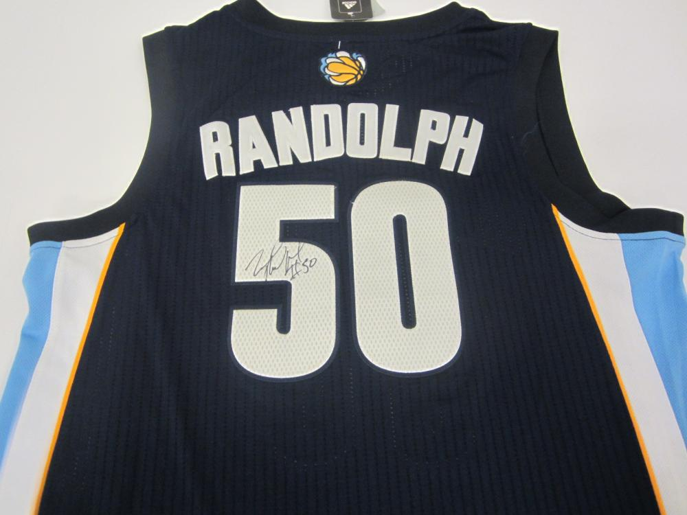 Lot 939: ZACH RANDOLPH GRIZZLIES SIGNED AUTOGRAPHED JERSEY CERTIFIED COA