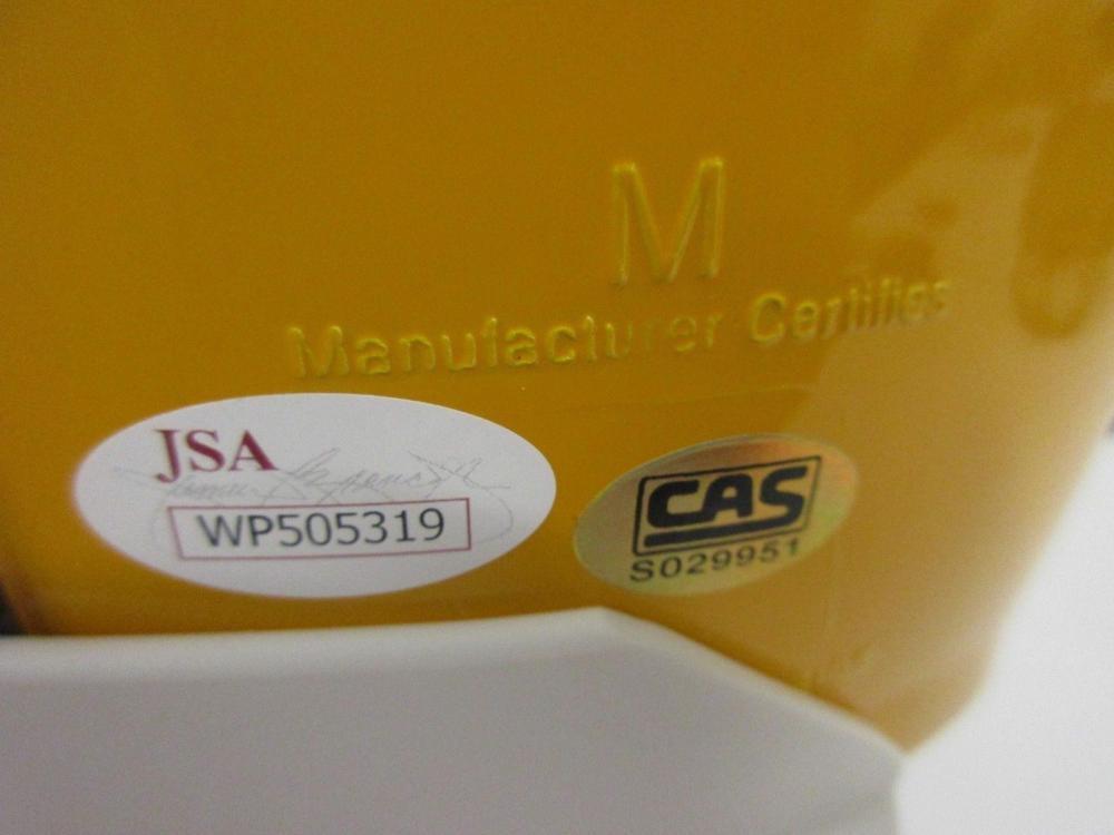 Lot 952: Antonio Brown Pittsburgh Steelers Signed Autographed Full Sized Replica Helmet JSA CoA