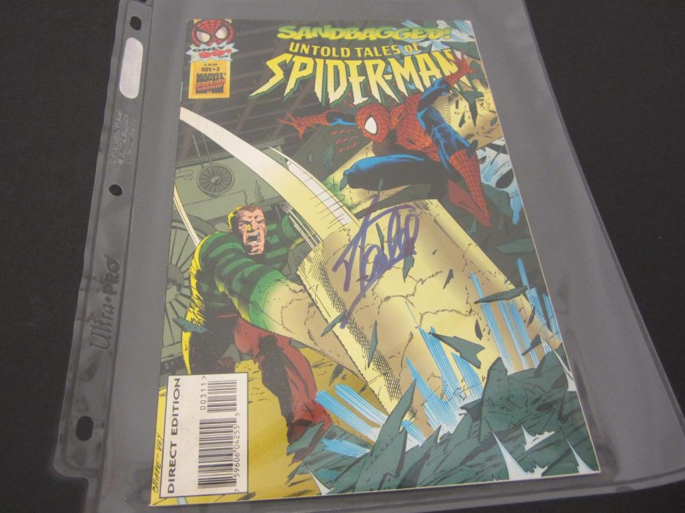 Lot 966: STAN LEE MARVEL SIGNED AUTOGRAPHED COMIC BOOK CERTIFIED COA