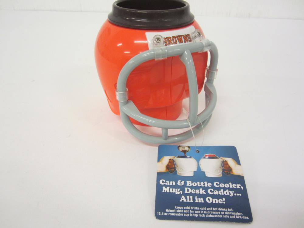 Lot 965: Greg Pruitt signed autographed Browns Helmet Cup Certified Coa
