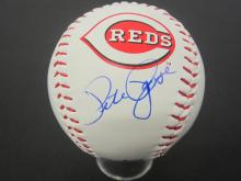 Lot 972: PETE ROSE REDS SIGNED AUTOGRAPHED BASEBALL CERTIFIED COA