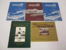 Lot 984: (5) CLEVELAND STADIUM 60 YEARS OF MEMORIES COMMEMORATIVE BOOKS