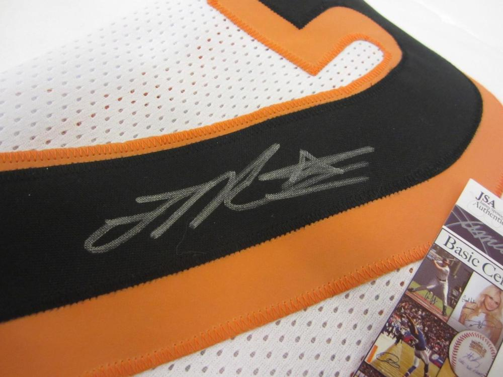 Lot 992: Joe Mixon Cincinnati Bengals Signed Autographed Football Jersey JSA CoA ROOKIE AUTO
