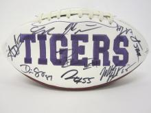 Lot 1013: 2018 CLEMSON TEAM SIGNED FOOTBALL DABO SWEENY TREVOR LAWRENCE AND OTHERS CERTIFIED COA