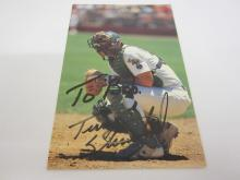 Lot 1023: TERRY STIENBACH HAND SIGNED AUTOGRAPHED PHOTO CARD WITH COA