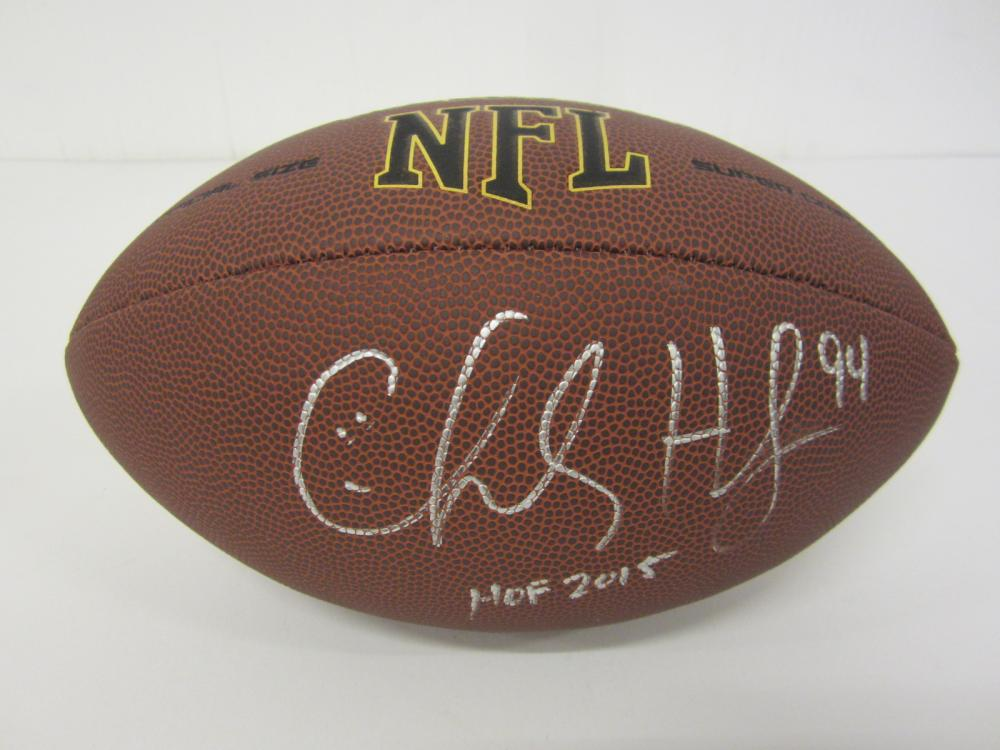 Lot 1021: CHARLES HALEY COWBOYS SIGNED AUTOGRAPHED FOOTBALL CERTIFIED COA