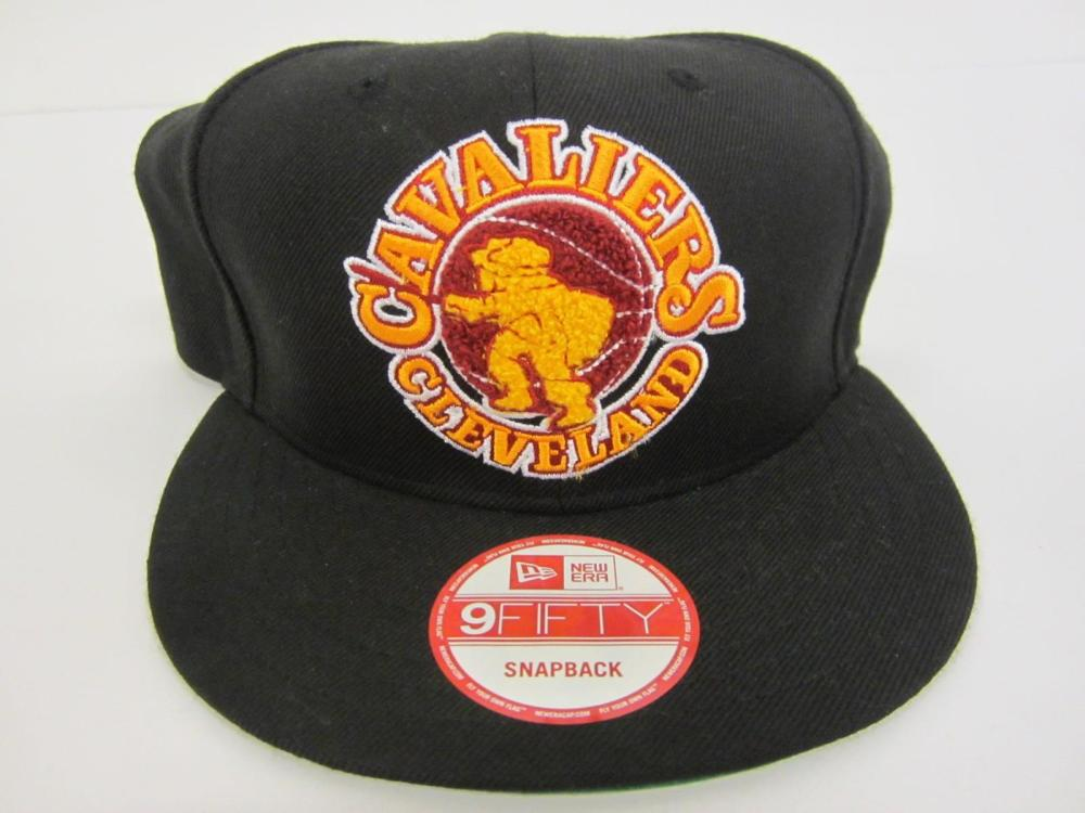 Lot 1027: CLEVELAND CAVALIERS ADJUSTABLE CAP ONE SIZE FITS ALL ( SNAP BACK )